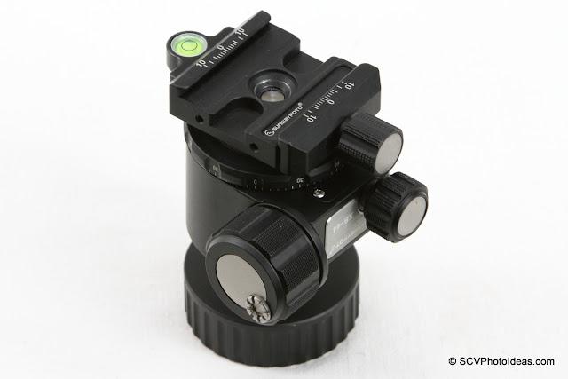 Inverted Sunwayfoto XB-44 BH w/ SCV-FK Flip kit - complete