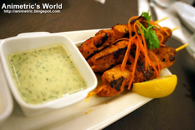 Tandoori CHicken Tikka at Oliva Bistro Cafe