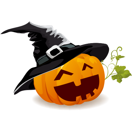 Jack-O-Lantern Witch