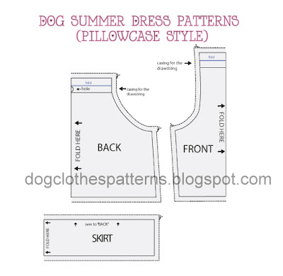 free dog dress patterns download