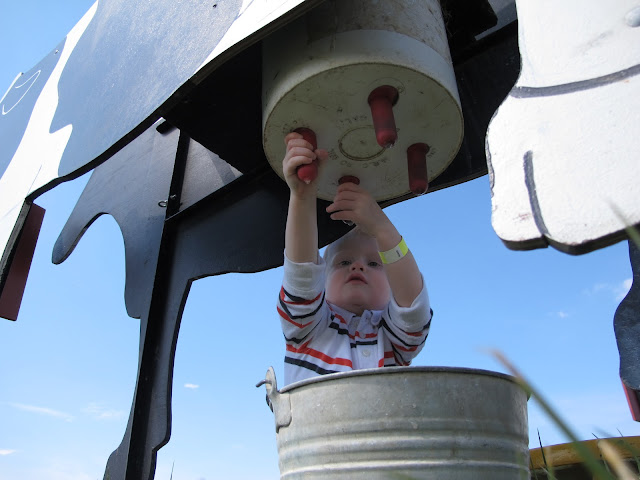 Milking a Plastic Bucket