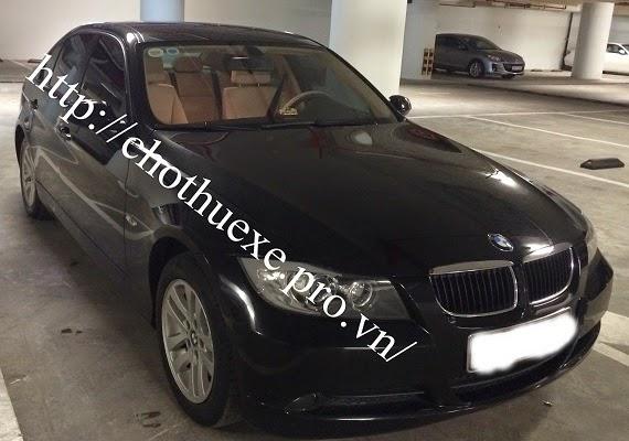 Cho thuê xe cưới hạng sang BMW320i