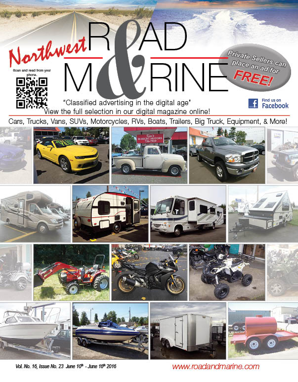 Check Out The New NW Road & Marine Digital Magazine 100+ Pages Every Week!!