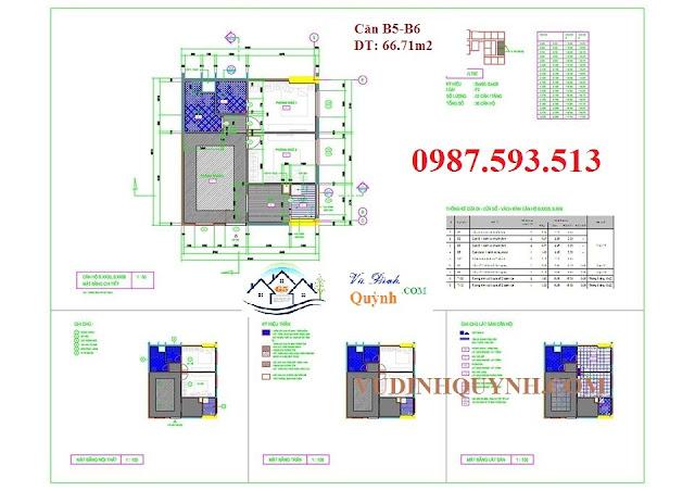 Căn B5-B6 dự án 122 Vĩnh Tuy
