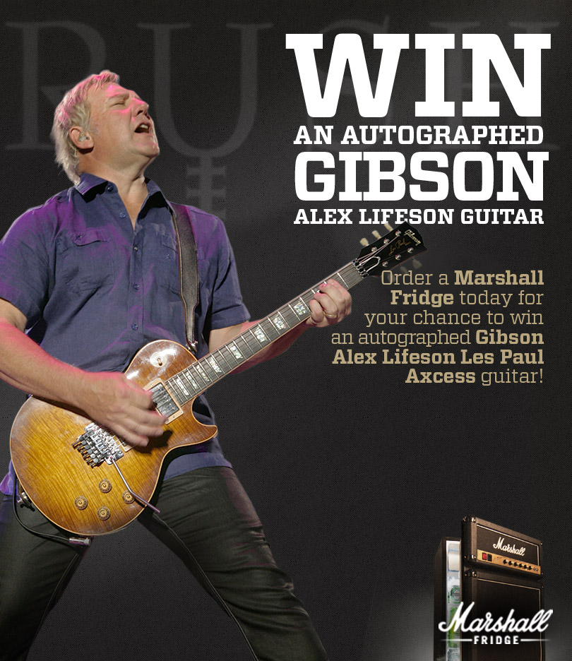 Power Windowsa Tribute To Rush Win An Autographed Gibson Alex