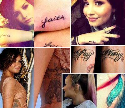 Todas as Tatuagens da Demi Lovato com Significados