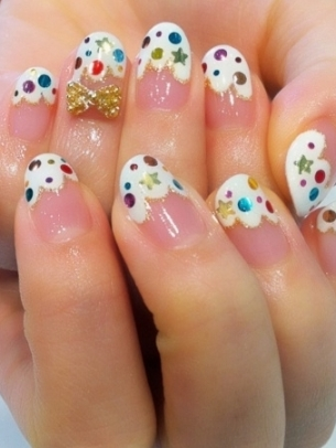 Lush Fab Glam Blogazine Style Me Pretty Nail Designs Bows And More