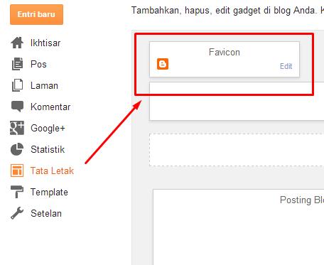 Cara mengganti favicon Blogger