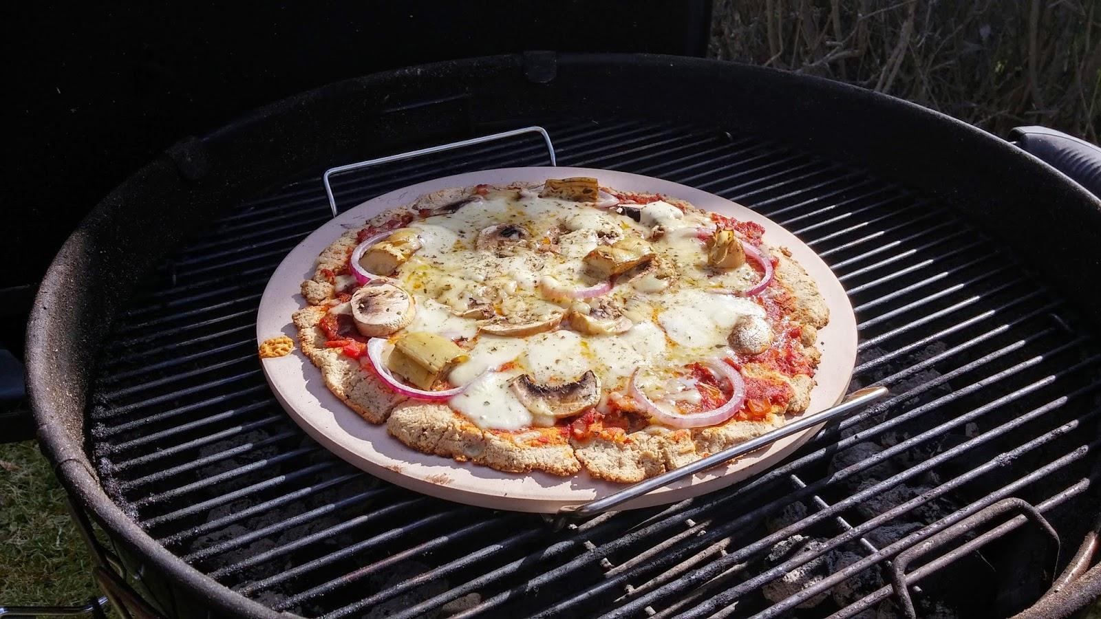 recept pizza på pizzasten