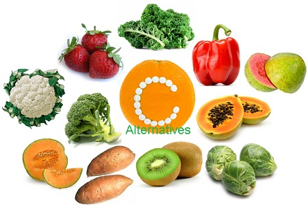 Orange Alternative Vitamin C Foods