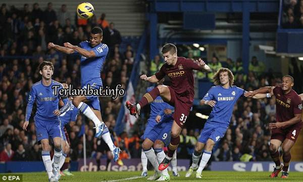Hasi Pertandingan Chelsea Vs Manchester City