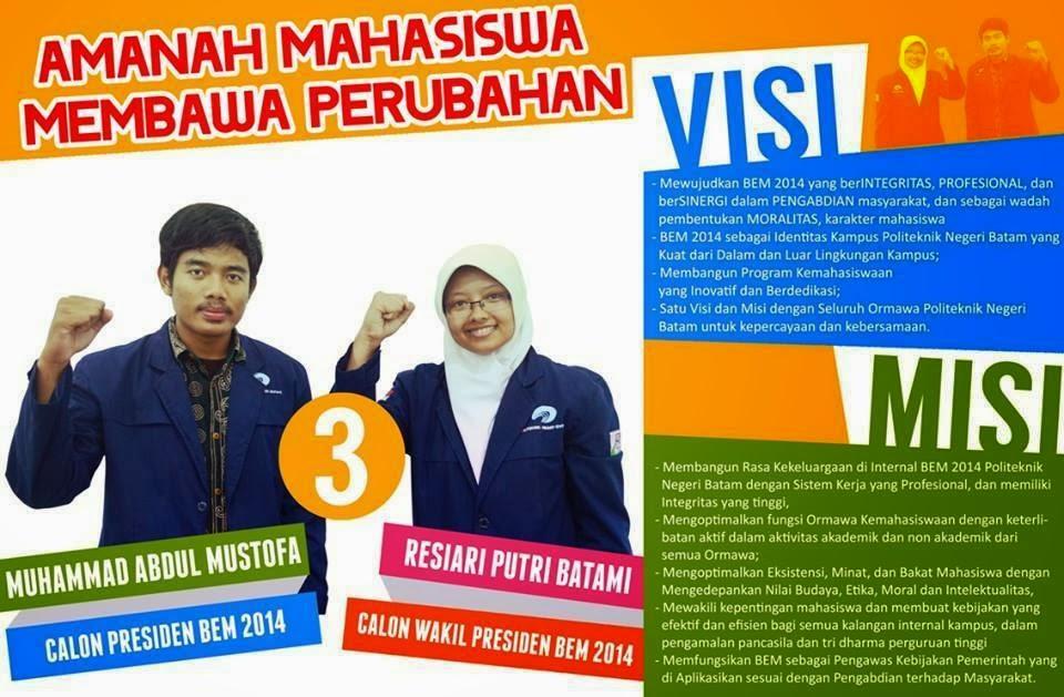 Kandidat 3 Capresma Politeknik Negeri Batam