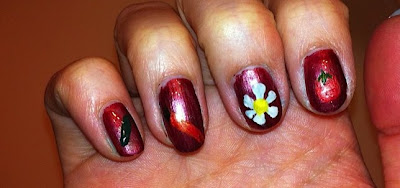 nail me, nail art, anna, fruit, vegetables, garden