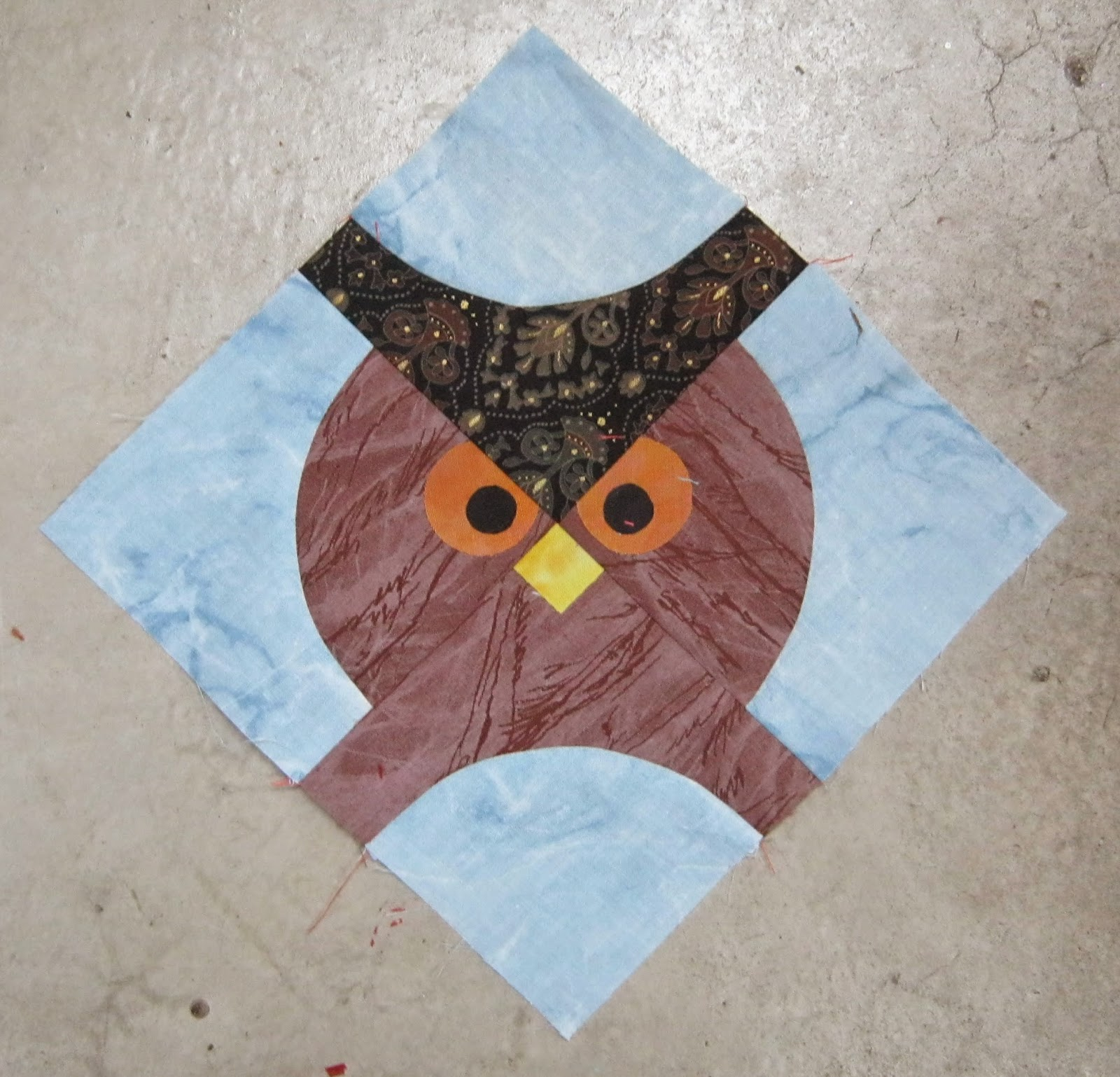 Persimon Dreams: The Drunkard s Owl Block 52 Blocks