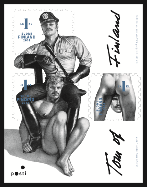 Tom of Finland 1st Class Stamp