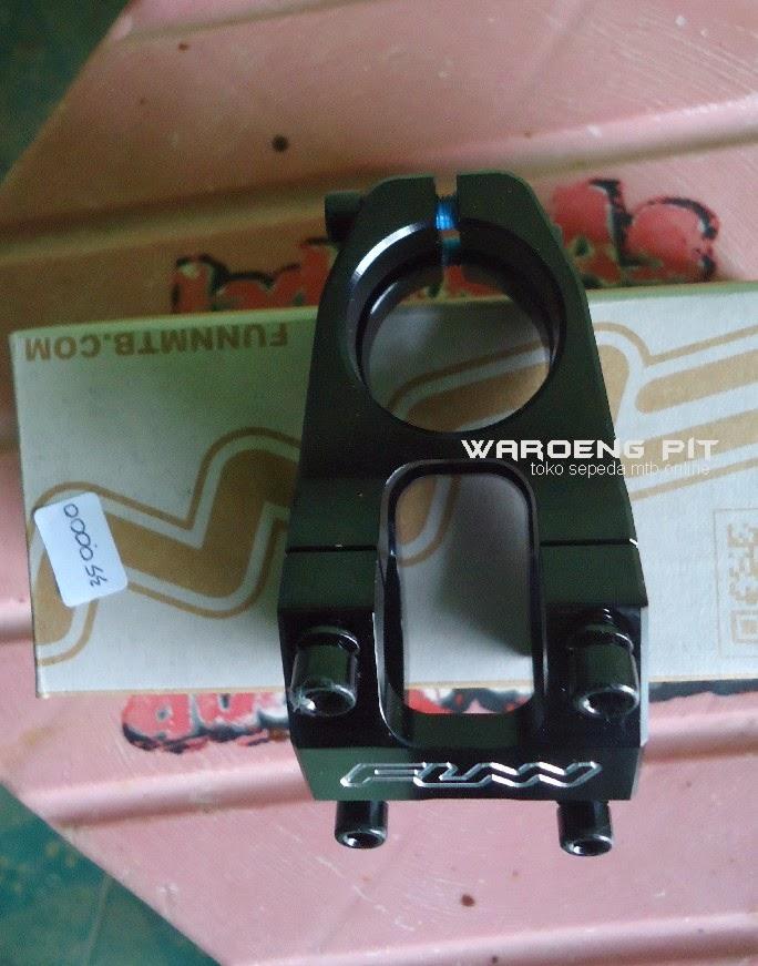 Jual stem funn hitam sepeda mtb gunung downhill murah spareparts suku cadang accesories sepeda 3