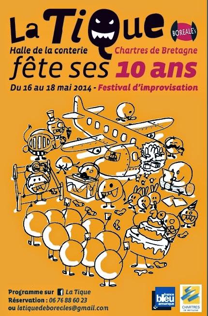 Festival des 10 ans de la TIQUE