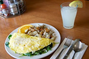 Spinach & Artichoke Omelet