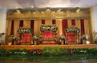 dekorasi pelaminan minimalis   ns decoration