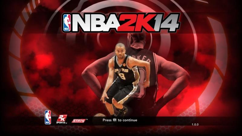 NBA 2K14 Spurs' Tony Parker Startup Screen Mod