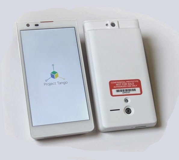 Project Tango, tablet tailored for 3D, 3D tablet, Google 3D tablet, 3D objects, capture images of 3D objects, mobile, new tech,