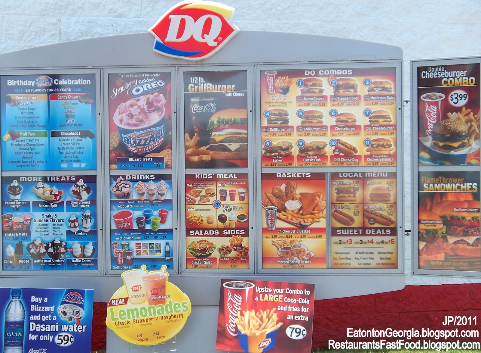 prices for: prices for dairy queen