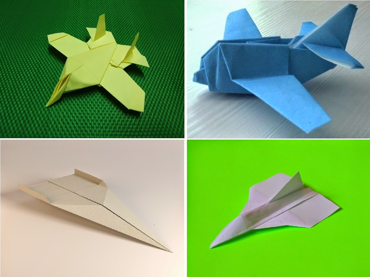 airplanes origami