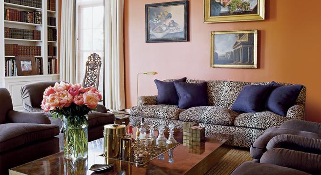 Living Room Of Aerin Lauder
