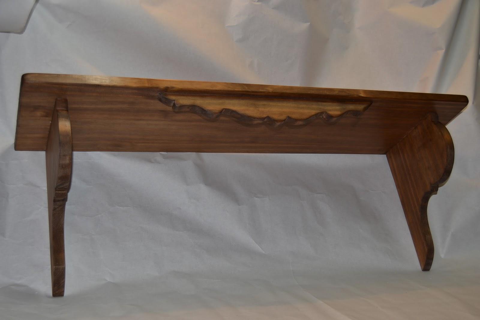 Artesan a r stica en madera repisa de madera r stica - Estanterias rusticas de madera ...