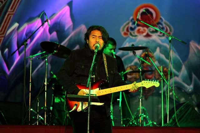 Adrian Pradhan shines in Darjeeling Winter Festival 2015