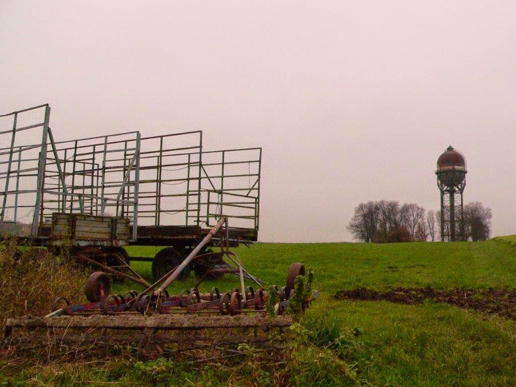 Dortmund Grevel Lanstrop Landmarke Spaziergang Winter Sonntag Feld Dorf
