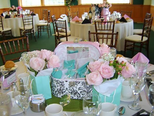 Bridal shower centerpieces ideas wedding centerpieces