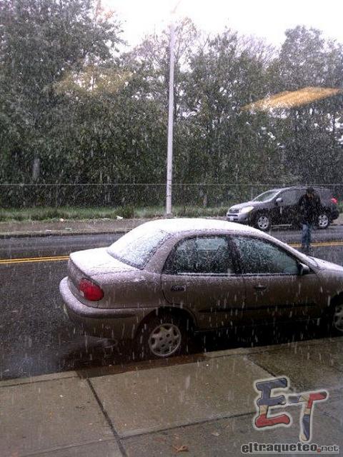 Nieve en Octubre @ NYC