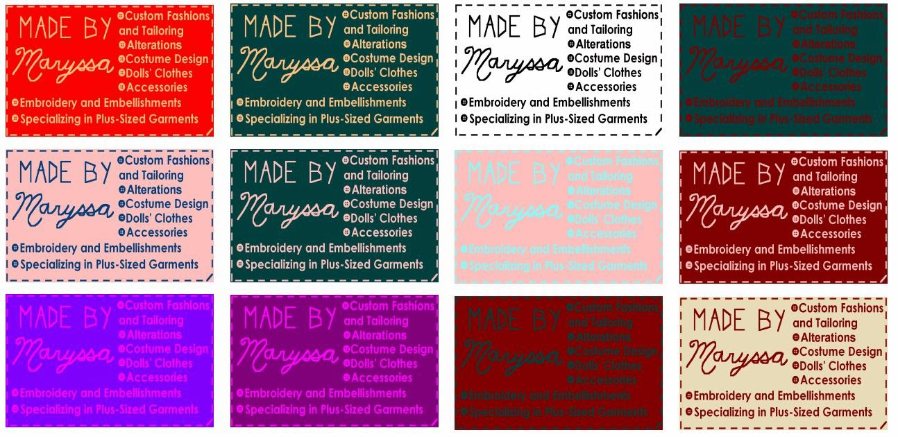 Made by Maryssa: Business Cards
