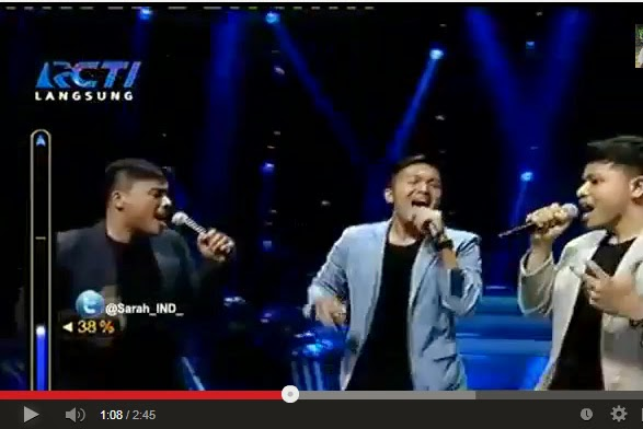 Bertiga-Swear it Again (Westlife) | Rising star