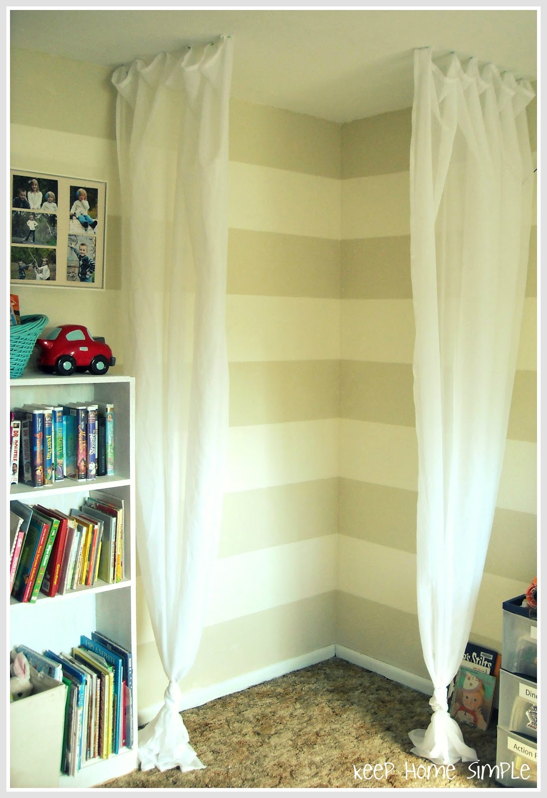 Keep Home Simple Simple Reading Nook