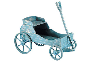 Rustic Garden Wagon