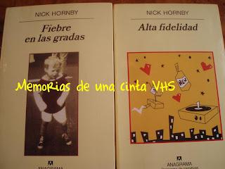 Nick Hornby, Alta Fidelidad, Fiebre en las gradas