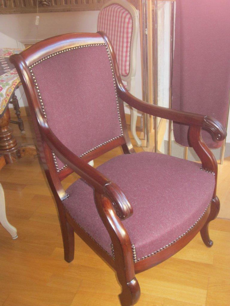 corine kern tapissier fauteuils restauration. Black Bedroom Furniture Sets. Home Design Ideas