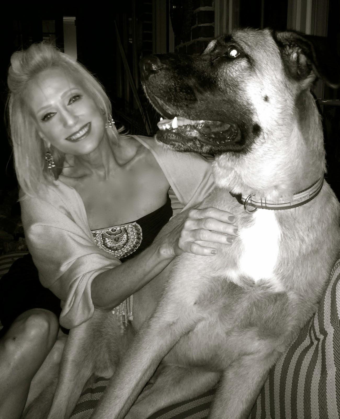 German Shepard/St. Bernard,Dog,Big Girls Need Lovin Too.