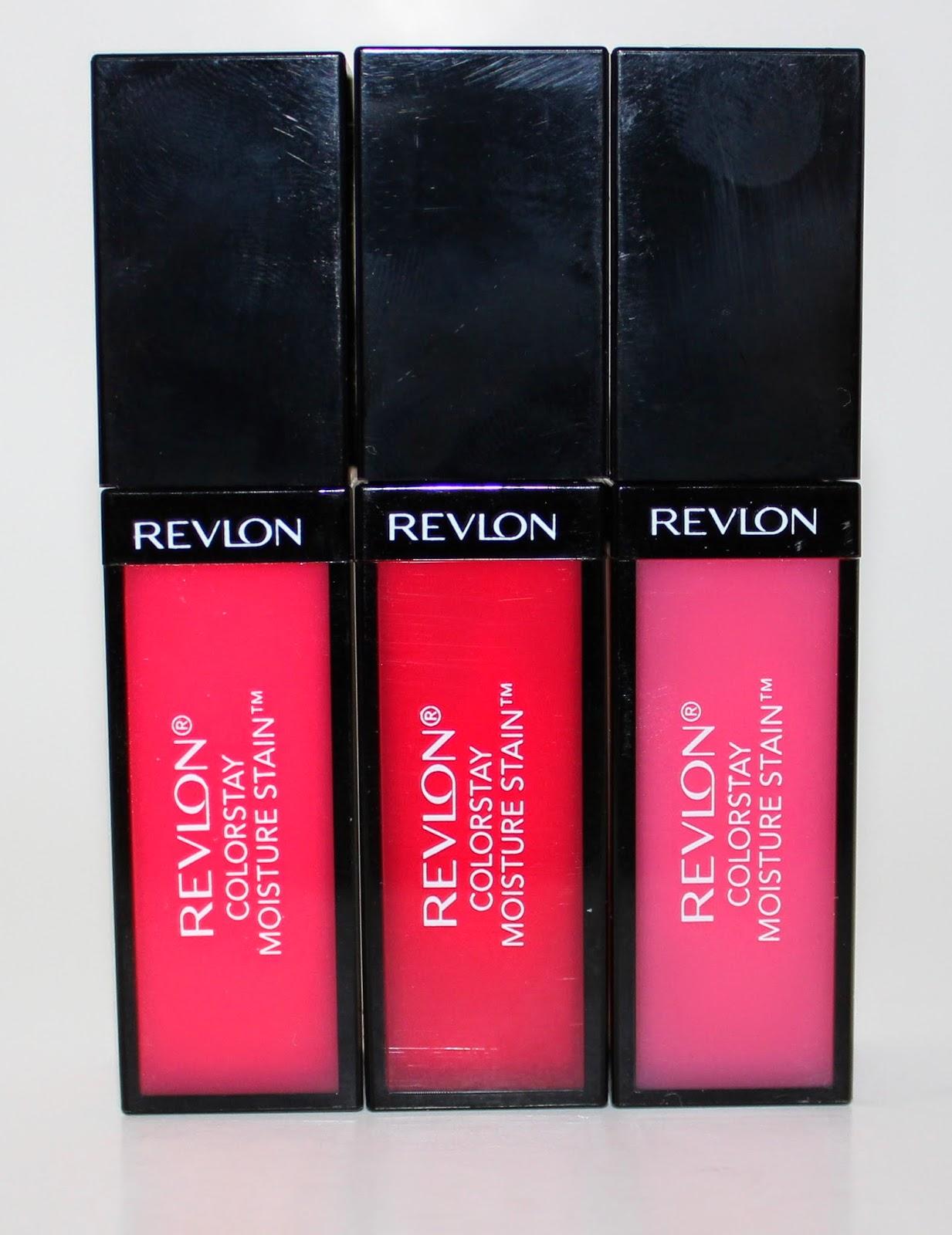 Revlon ColorStay Moisture Stain in Rio Rush, Barcelona Nights & LA Exclusive