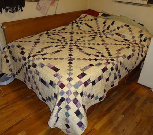 Braided Irish Chain Quilt - Tutorial
