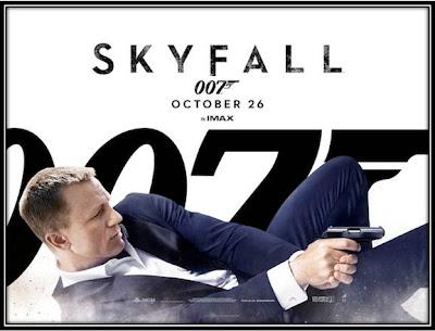 Affiche Skyfall James Bond 50ans