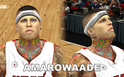 NBA 2K13 Chris Andersen Cyberface Patch