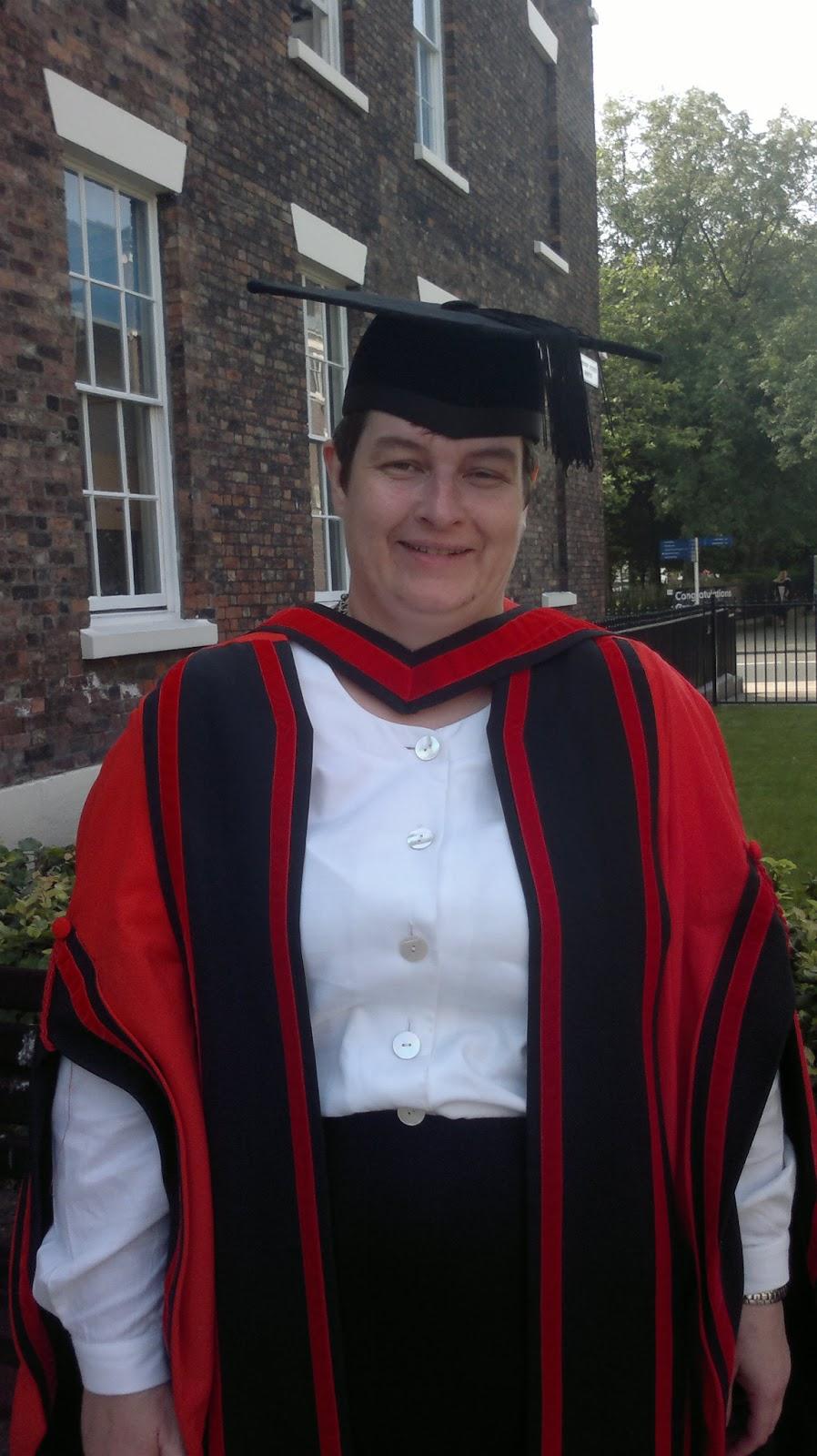 PhD graduation | Liz Walder