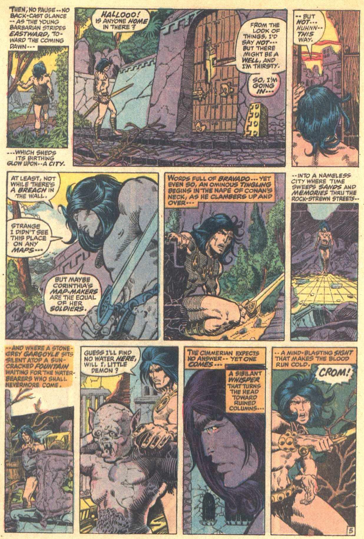 Conan the Barbarian (1970) Issue #8 #20 - English 6