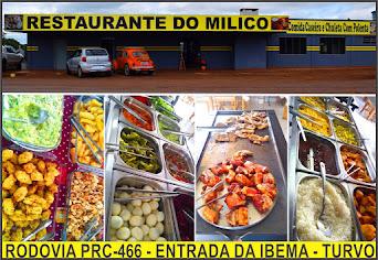 Inaugurou em Turvo, o Restaurante do Milico