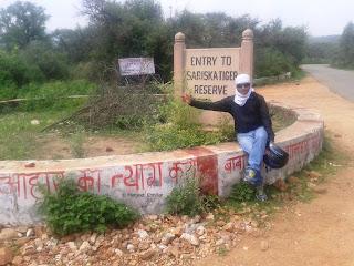 Sariska Tiger Reserve Entry Gate, Rajsthan