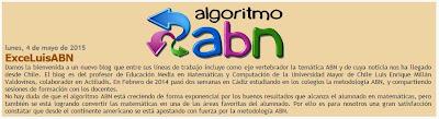 Bienvenida de Algoritmo ABN