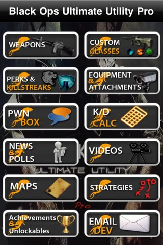 Black Ops Ultimate Utility™ Pro (for Call of Duty) IPA 1.1 iPhone iPod Touch